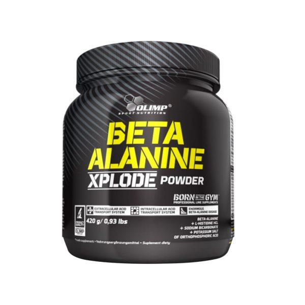 beta alanine xplode powder 420g orange